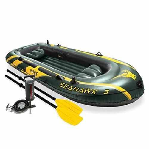 Комплектация лодки Intex Seahawk 3