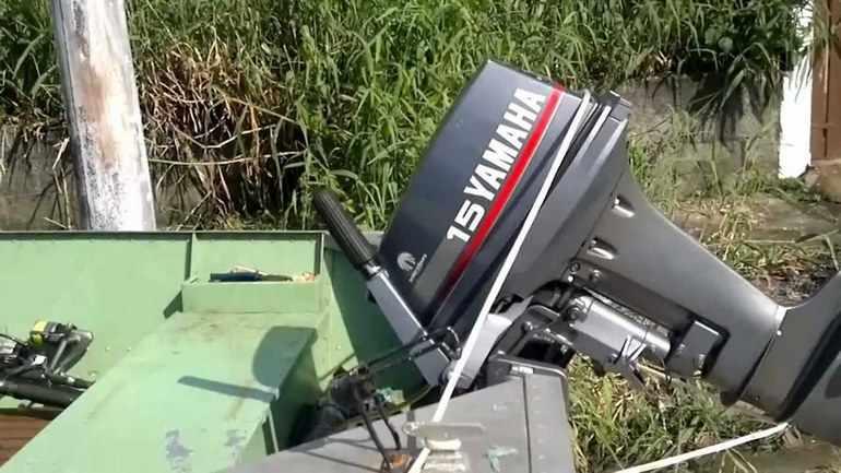 Мотор Yamaha F15 CEHS