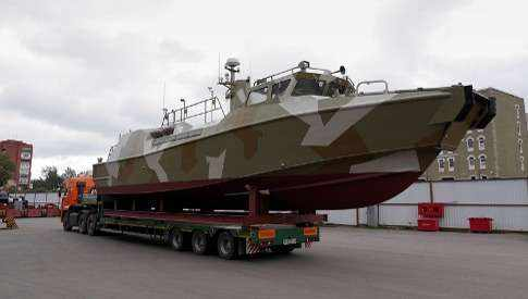 Патрульный катер ВМФ России «Раптор»