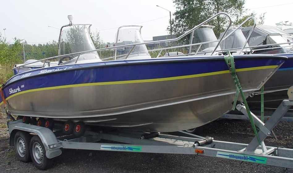 Катер Silver Shark DC 580 New