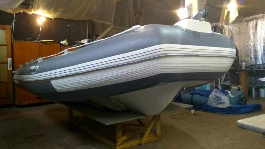 Лодка РИБ 420