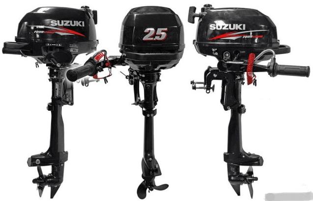 Четырехтактный лодочный мотор «Сузуки 2.5»: отзывы владельцев