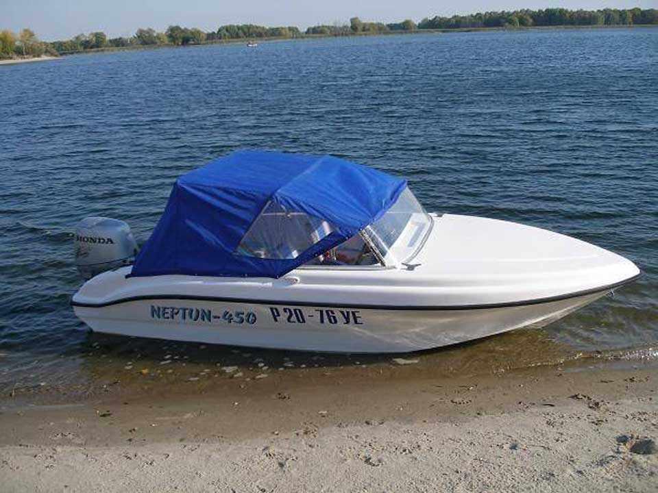 Лодка Нептун 450 фото