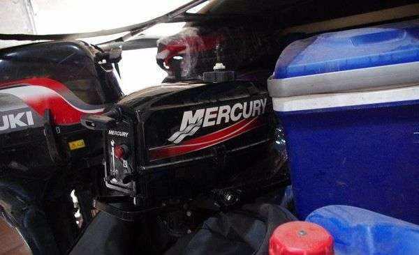 Лодочный мотор Меркурий 5 2-тактный