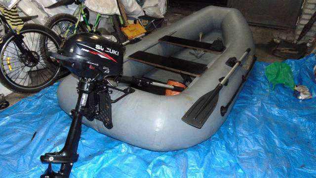 Лодочный мотор «Сузуки 2.5» 4такта