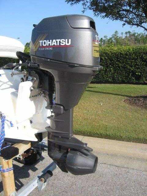 Лодочный мотор Tohatsu