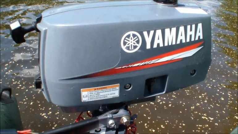 Мотор Yamaha-2-DMHS
