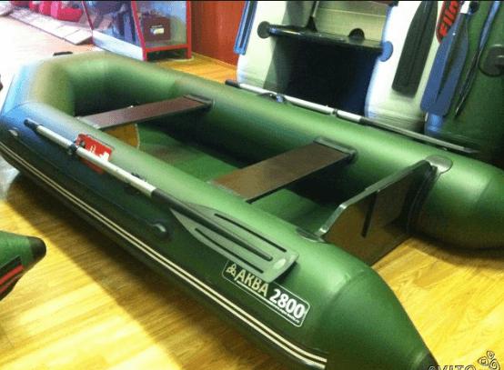 Надувная лодка ПВХ «Аква» под мотор