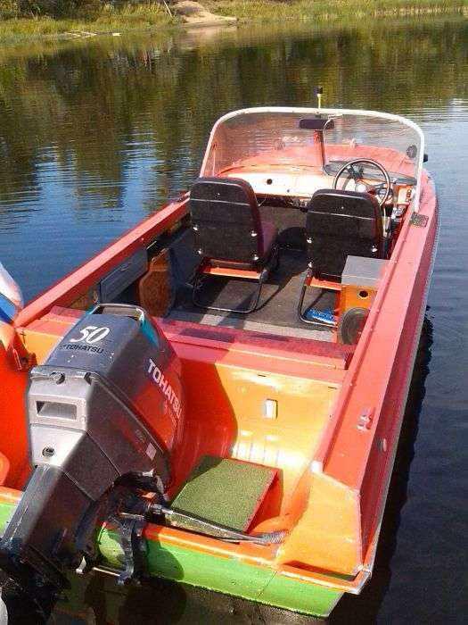 Лодка «Казанка 5м4» с мотором