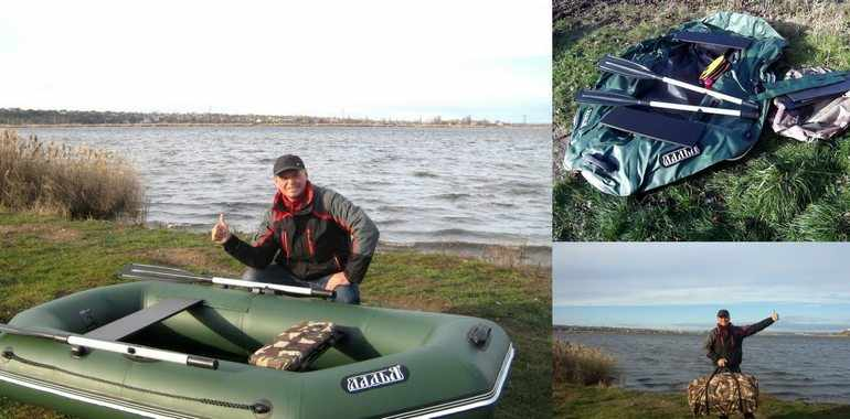 Ремонт лодки ПВХ в полевых условиях