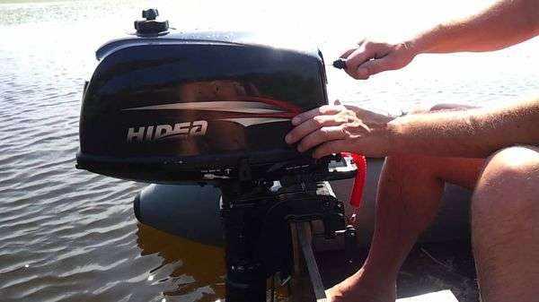 Подвесной лодочный мотор Hidea HD 30 FES