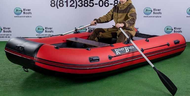 Надувная лодка ПВХ RiverBoats RB-370 (Киль)