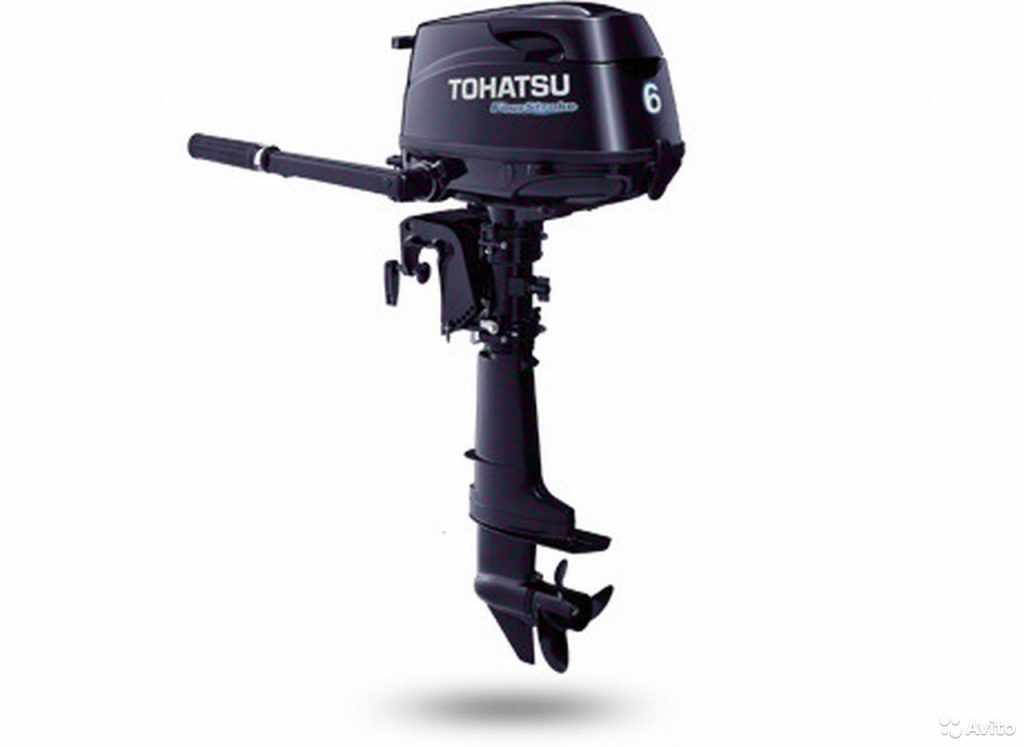 Tohatsu MFS6BSS подвесной лодочный мотор