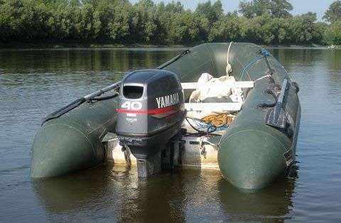 Лодка Кайман 360s