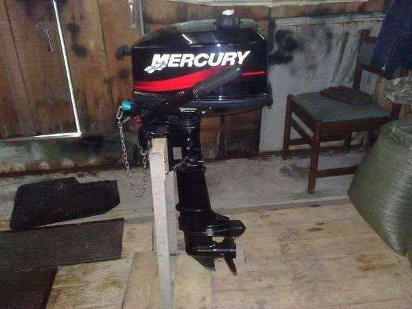 Лодочный мотор Меркурий 5 М 2-такта