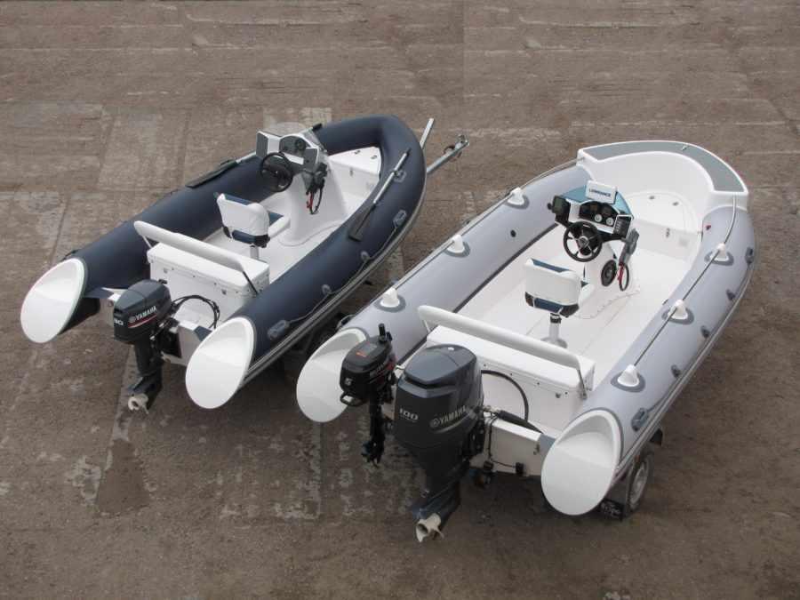 Лодка РИБ AQUA Boat 420