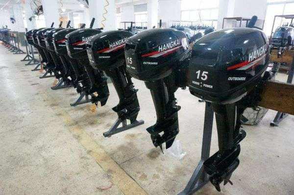 Китайский лодочный мотор