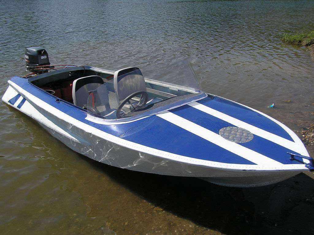 Тюнинг лодки «Обь»