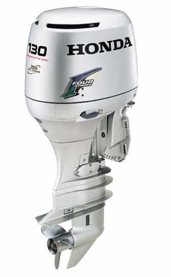 Honda BF 130 подвесной лодочный мотор