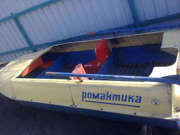 Лодка Романтика фото