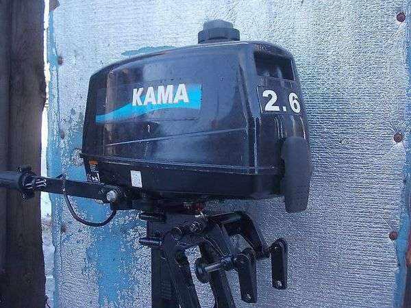 Лодочный мотор Кама 2.6