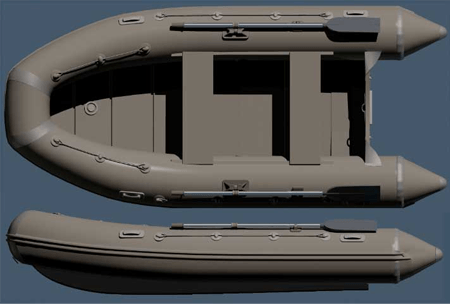 Лодка ПВХ НДНД Кайман 360