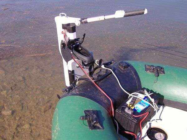 Лодочный электромотор для лодки ПВХ