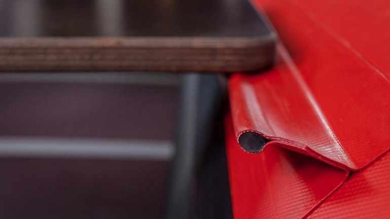 Деревянные сидения в лодке ПВХ РиверБоатс РБ 370 (Киль)