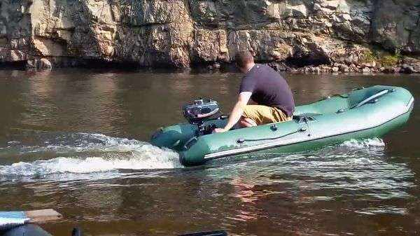 Надувная ПВХ лодка Муссон 2800