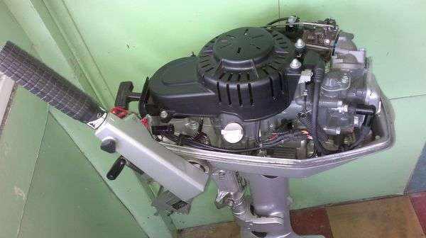 Японский лодочный мотор Хонда 20 л.с 4-х тактный