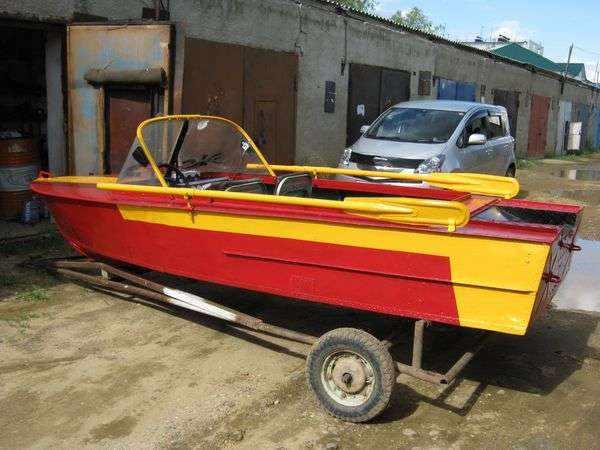Тюнинг лодки МКМ