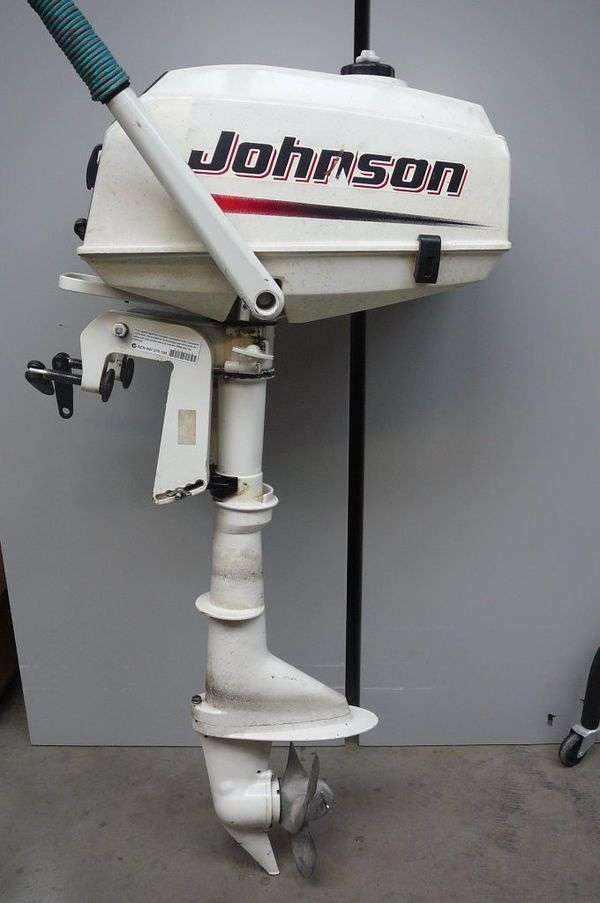 Подвесной лодочный мотор Johnson 3R