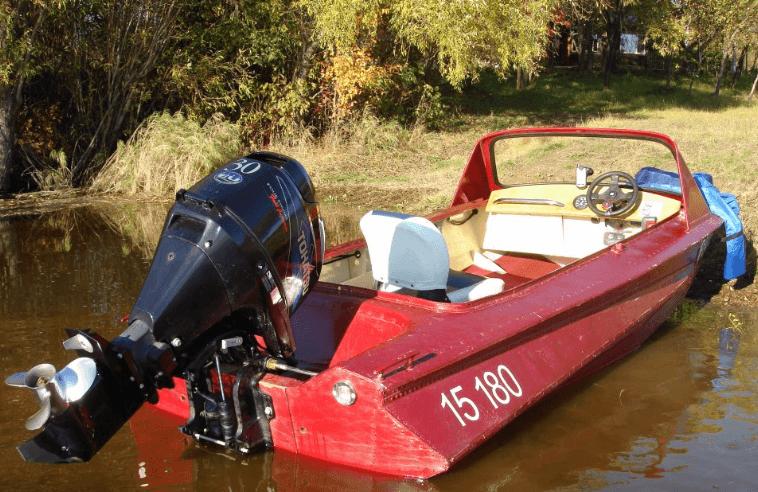 Моторная лодка «Обь 1»