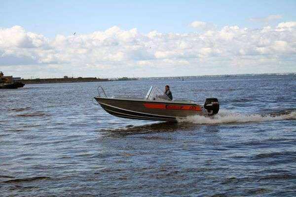 Алюминиевая лодка Wellboat-51