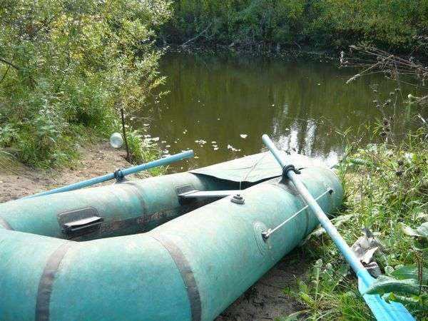 Надувная лодка Омега 2 фото