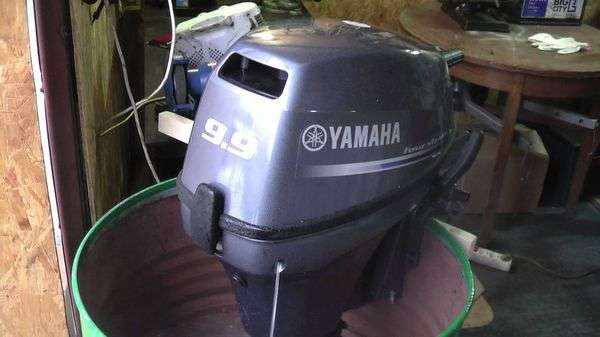 Обкатка подвесного лодочного мотора