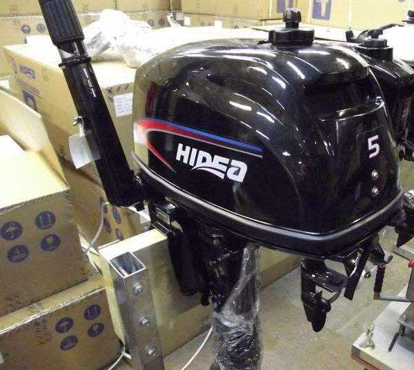 Подвесной лодочный мотор Hidea 5 (HDF5HL)