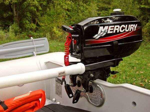 2-х тактный лодочный мотор Меркурий 3.3 л.с.