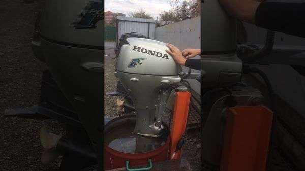 Лодочный мотор Хонда 20 л.с