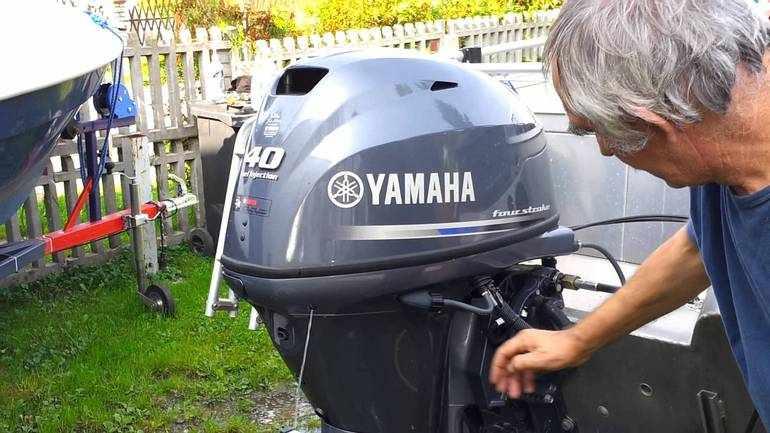 Мотор Yamaha F40 FET
