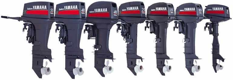 Лодочные моторы фирмы Yamaha