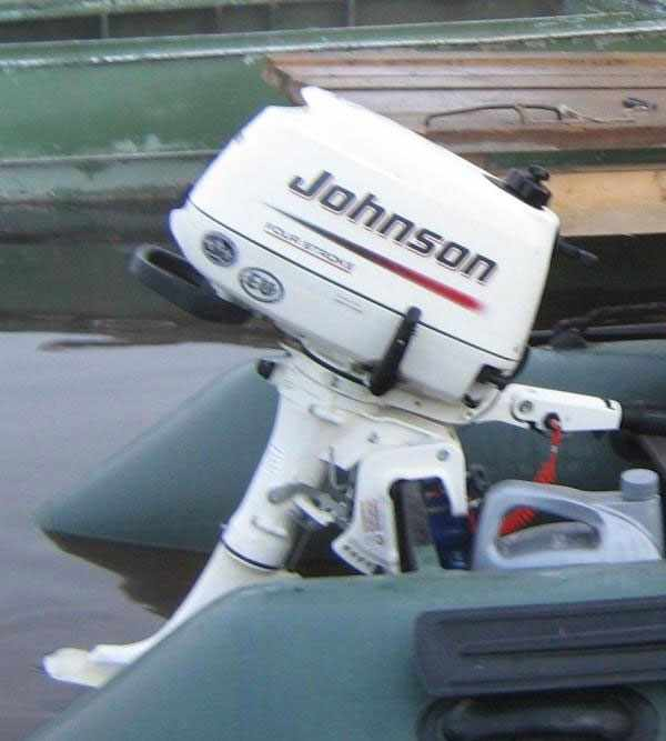 мотор Johnson F6R