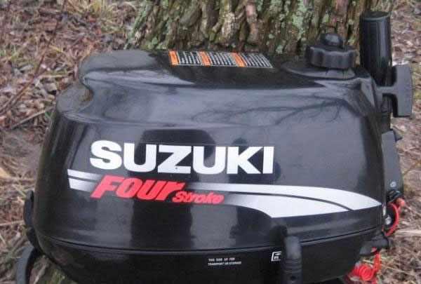 Подвесной лодочный мотор Suzuki DF 6 S