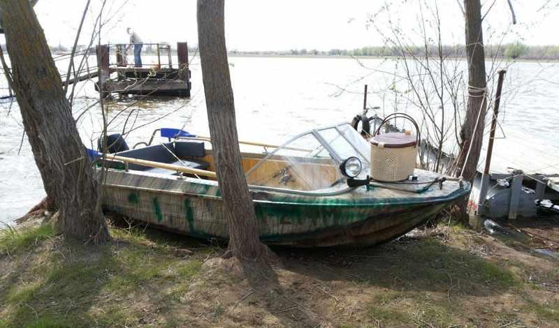 лодка Казанка и лодочный мотор HIDEA HF40FEL