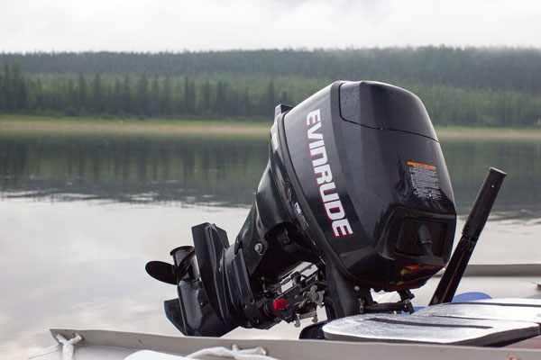 лодочный мотор EVINRUDE 15