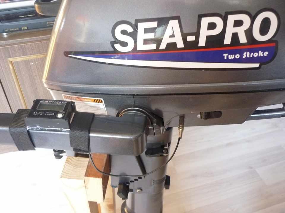 Установка тахометра на Sea-Pro T 3S