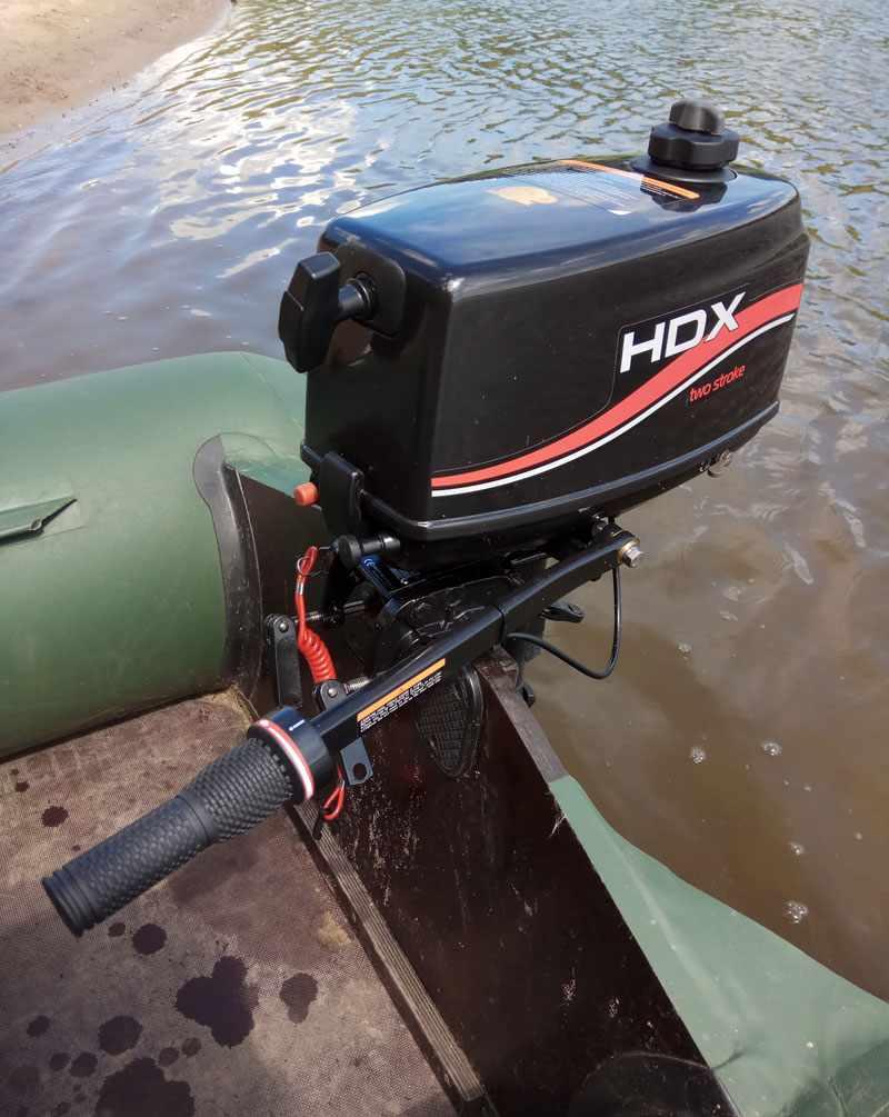 Лодочный мотор HDX T2.6