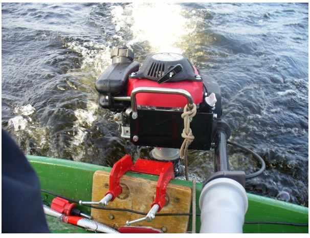Водометный мотор Кальмар