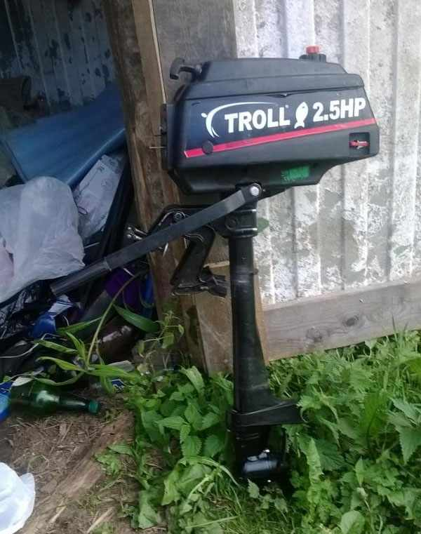 Troll 2.5 - неплохой мотор