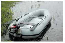 лодка с мотором Кальмар
